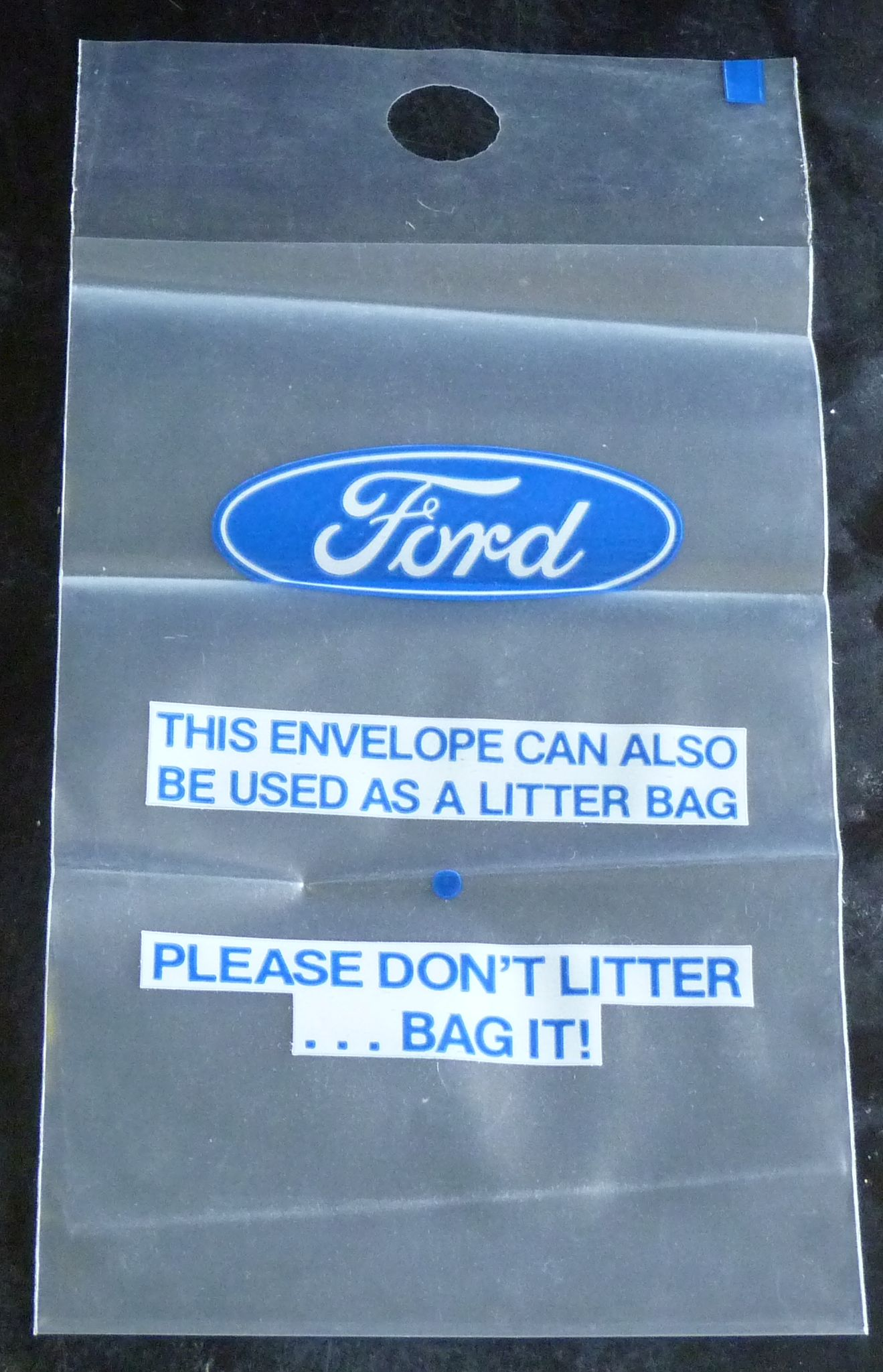 Ford litter bag ccuart Images