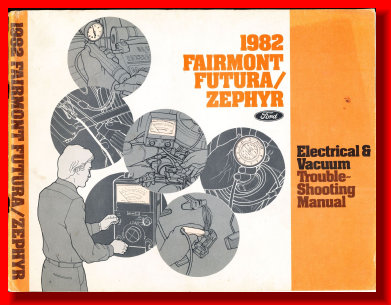 1979 ELECTRICAL MANUAL ZEPHYR FAIRMONT